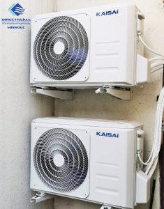 Kaisai klímaberendezés a nagy teljesítmény érdekében
