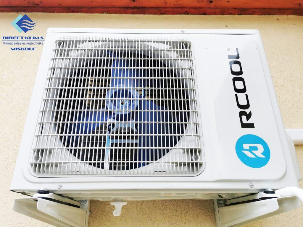 Rcool hűtő-fűtő inverteres klímaberendezés kültéri egysége