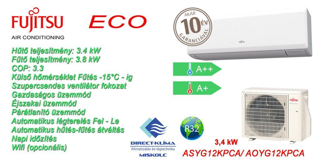 Fujitsu ECO 3.4 kW
