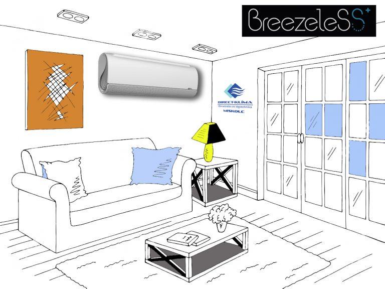 Midea Breezeless klímaberendezés
