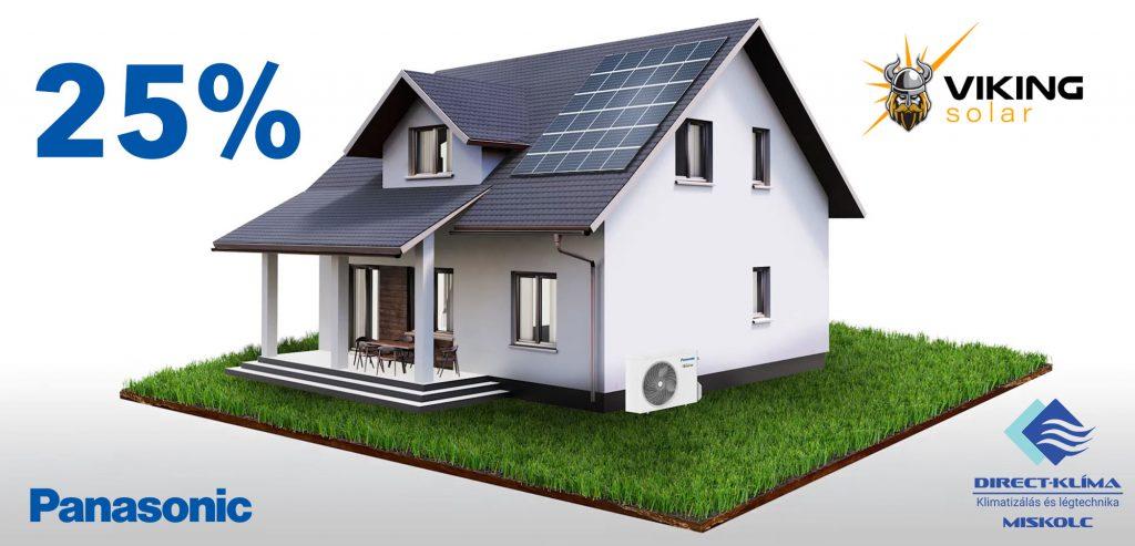 Megújuló energia Panasonic klíma és hőszivattyú