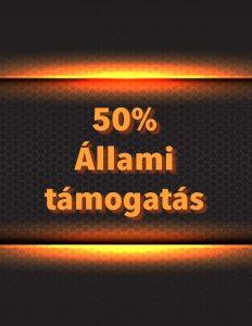 50% Állami Támogatás lakásfelújításra
