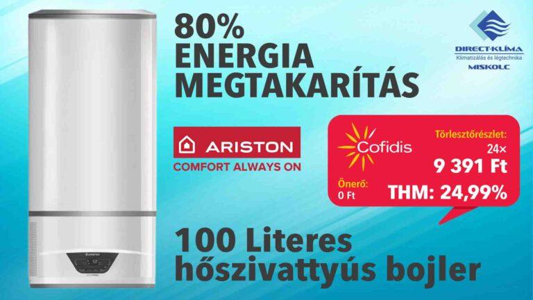 100 Literes Ariston Lydos Hybrid bojler áruhitelre