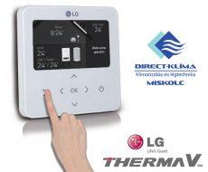 LG Therma V vezérlő egység